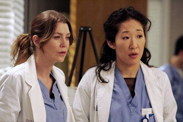Grey's anatomy's Sandra Oh & Ellen Pompeo